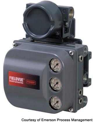 There are 2,500 Fieldvue meters to be installed by Emerson to aid in the management of its control valves.