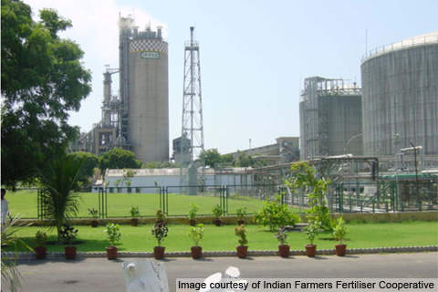 The Kalol unit was commissioned in 1975 with a capacity of 910t/d of ammonia and 1,200t/d of urea.