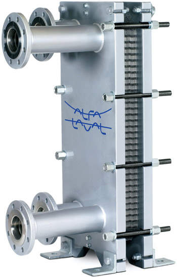 Heating and cooling are essential parts of most industrial processes. These functions have to be performed in an energy-saving way based on highly efficient heat transfer solutions. Alfa Laval supplies a broad range of heat exchangers for heating, cooling, evaporation and condensation.