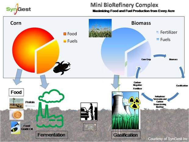 SynGest's mini-biorefinery or mini-plant could become an important business model for a sustainable chemical industry.