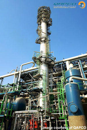 The new QAPCO plant in Mesaieed Industrial City is expected to be in production by 2011.