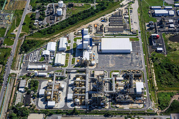 The new acrylic facility is located within the Camacari Industrial Complex.