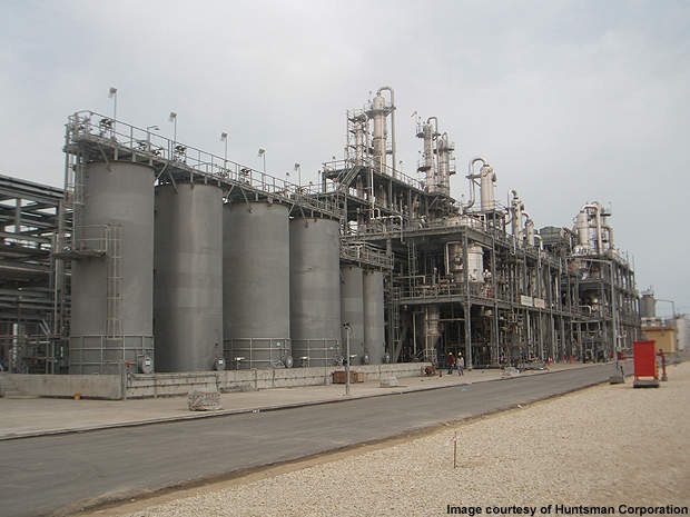 Huntsman is providing its proprietary ethylene dichloride/ammonia process called EDC technology for the new plant.