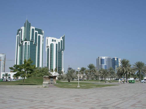Mesaieed Industrial City is south of the Qatari capital city of Doha.