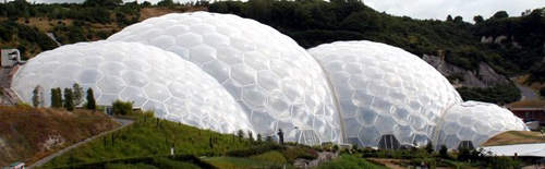 The Eden project in Cornwall also used ETFE in its biome construction. Asahi supplied 50,000m² of ETFE film for the Birds Nest stadium in China.