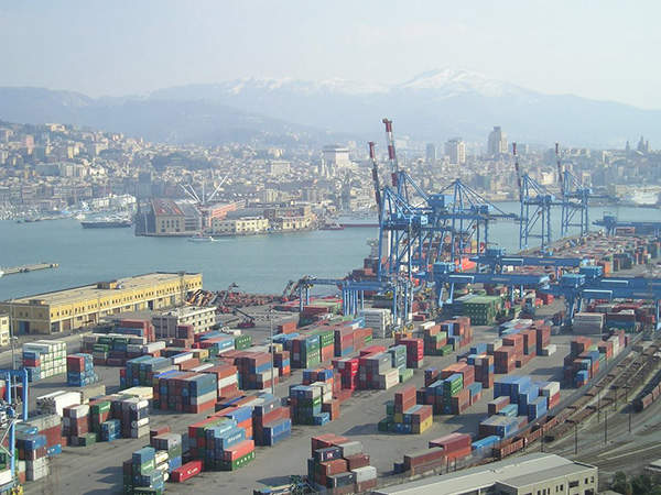 The site in Cassano Spinola was chosen because of its close proximity to the Port of Genoa.