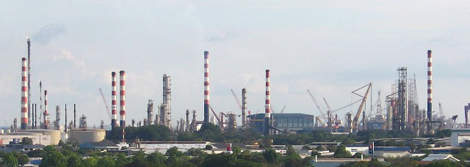 Jurong Island is home to about 80 different refineries and petrochemical concerns.
