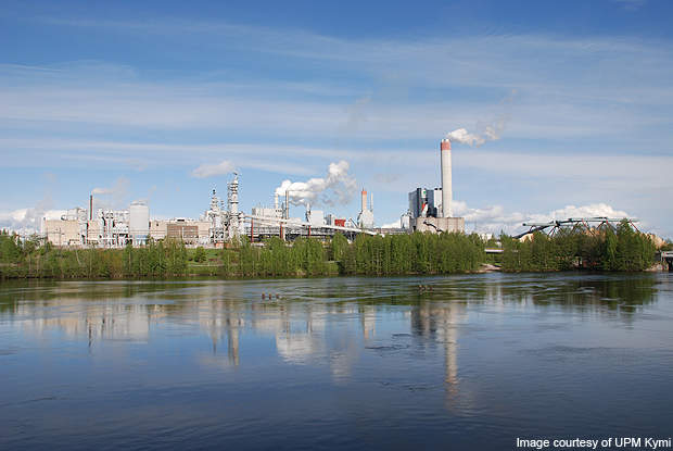 With the chemical recovery plant, Kymi has reached almost zero airborne emissions by 2009.
