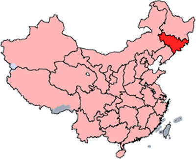 Jilin Province is in north-eastern China near the North Korean border.