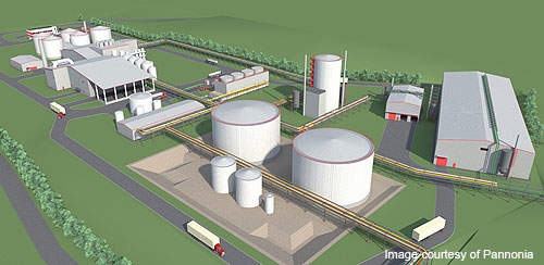 The plant is designed to allow doubling of the production capacity in future.