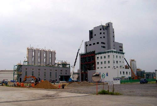 The plant is now ready for testing and commissioning and is set to come online by December 2007.