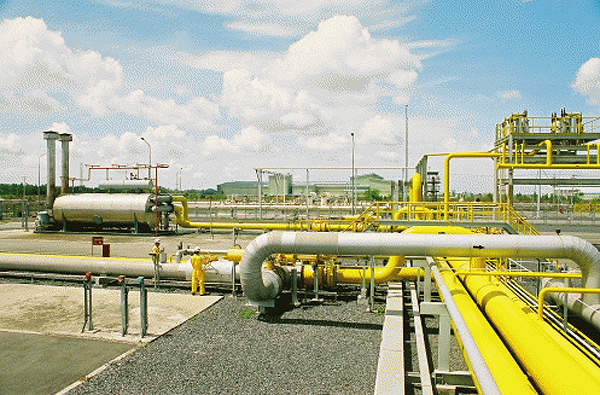 The Ca Mau gas-power-fertilizer complex also involved construction of a 330km gas transfer pipeline from PM3 field. Image courtesy of PetroVietnam Fertilizer and Chemicals Corporation.