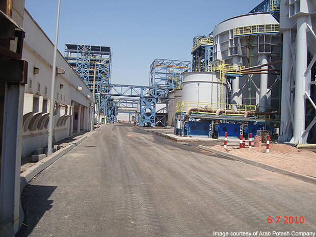 The newly constructed cold crystallisation plant.