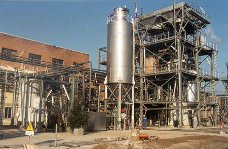 PVC Recycling Plant at Ferrara.