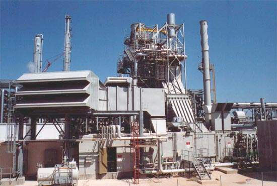The cogeneration plant was built by Lockwood Greene and has a capacity of 80MW.