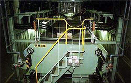 Membrane electrolysis technology was introduced by LII Europe (now AkzoNobel) to process caustic soda, chlorine and hydrogen.
