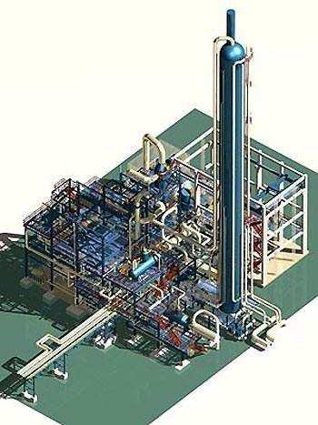 Plans to develop the nitric acid plant were put in place during 2000. The proposed 900t/d nitric acid plant would replace old production capacity.