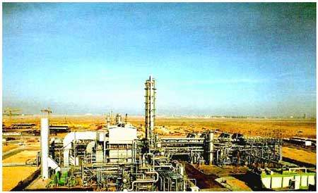 Al Jubail in Saudi Arabia is the site for a benzene and