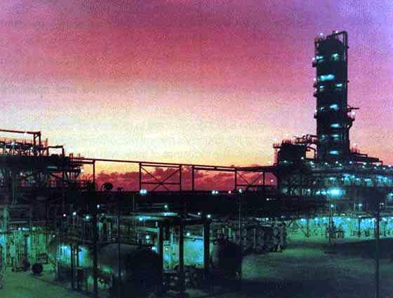 The Al Jubail (AR Razi 4) methanol plant.