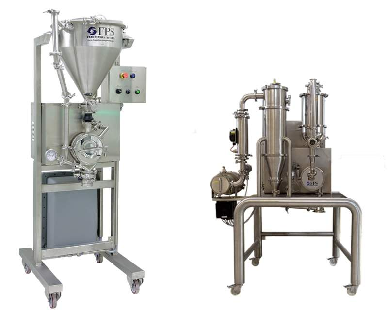 mechanical milling unit