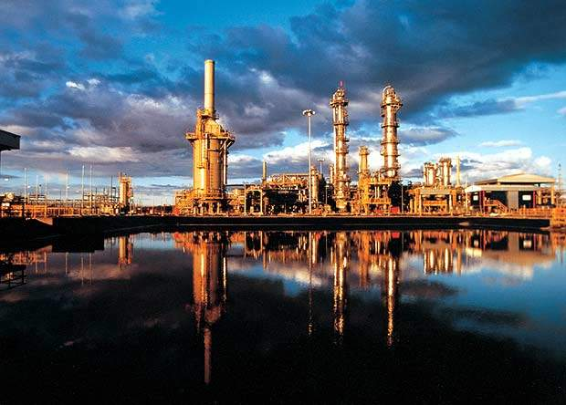 This natural gas plant in Scotland, UK, is one of many existing gas plants around the world that uses BASF's aMDEA technology. The Safco ammonia plant also includes this technology.