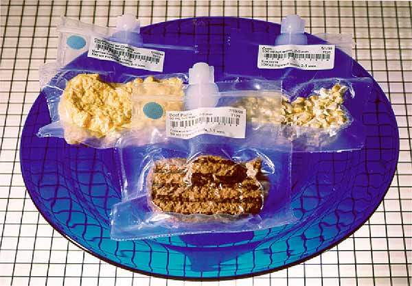 Wipak Walstrode produces films for packaging freeze-dried astronaut food and other space products for NASA. A layer of EVOH is used for deep drawing properties.