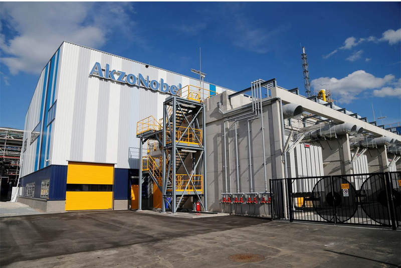AkzoNobel Specialty Chemicals facility