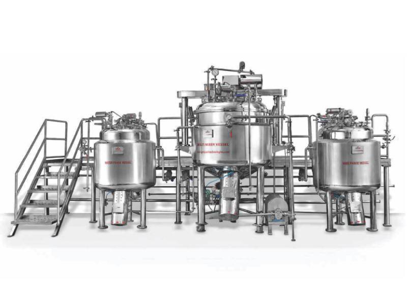 mixer vessel
