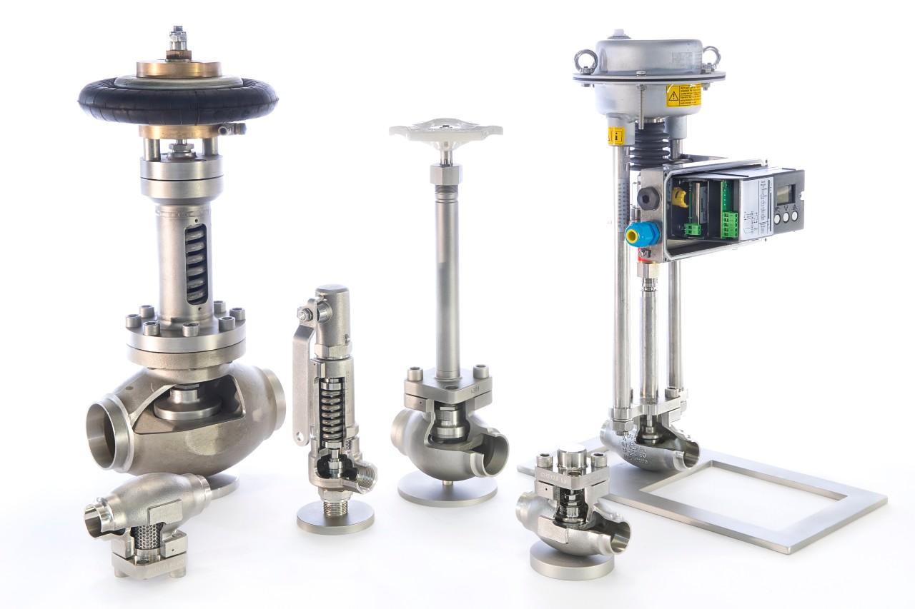 valves LNG