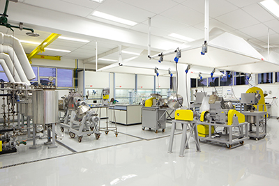 Clariant's R&D laboratory