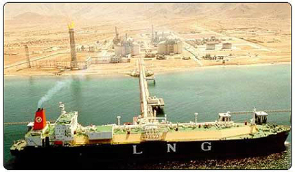 The gas is sourced from the Oman LNG plant