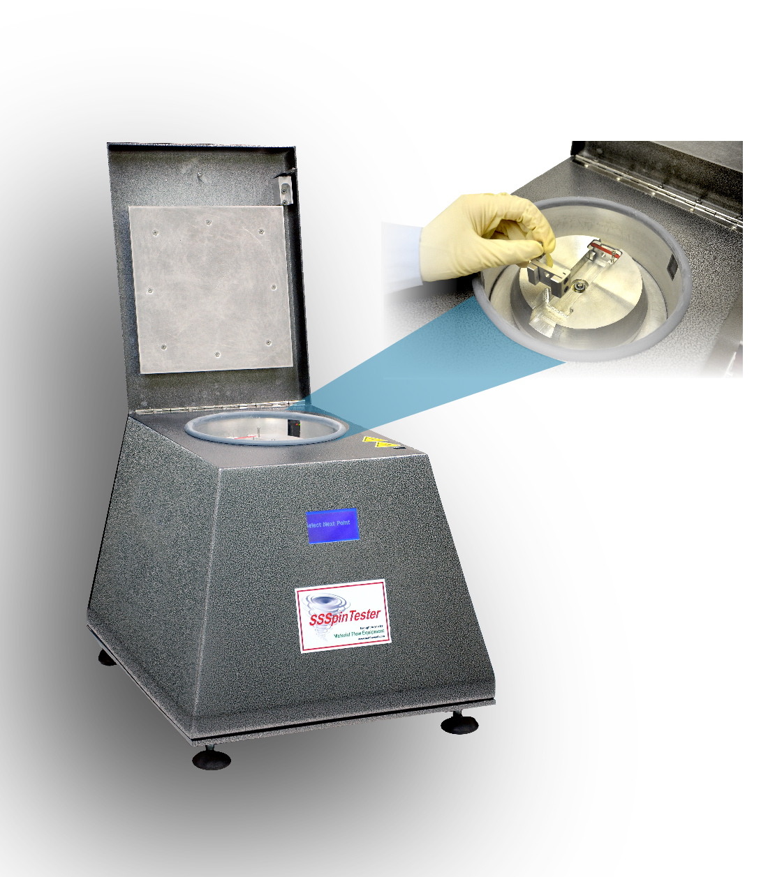 Particulate Systems' SSSpinTester – An Innovative Low-Volume, Powder Strength Tester