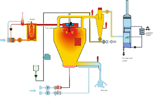 Spray Drying Plant for Synthetic Flavourings