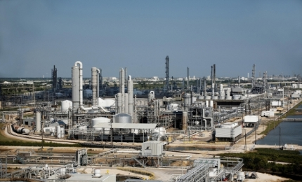 Ammonia production plant in Freepoer, Verbund, TX, US