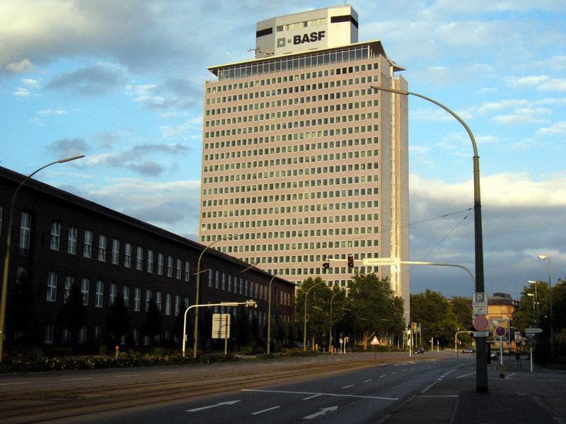 BASF headquarters.