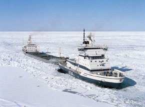 Baltic icebreaker IB Otso.